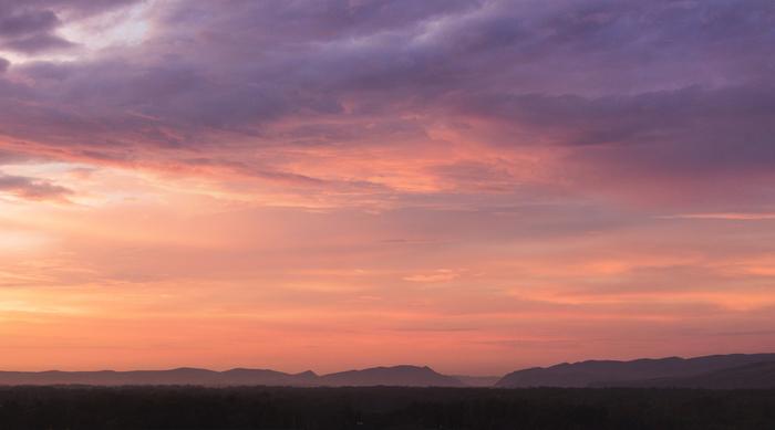 Закат над Абаканом Фотография, Canon 600D, Юпитер-37, Панорама, Саяны, Хакасия, Закат, Красота