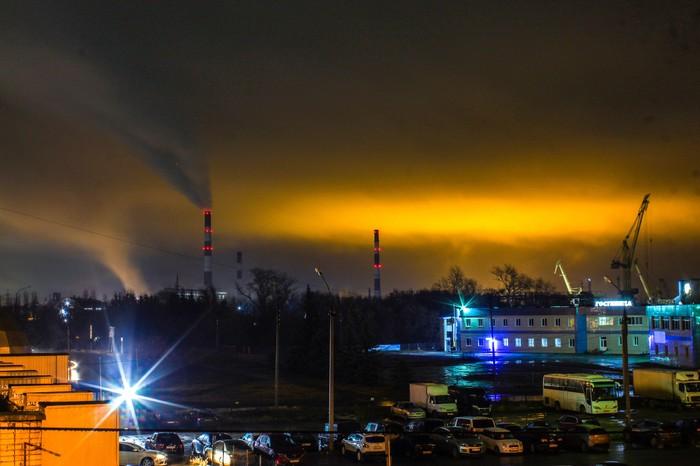 Ночь Дзержинск, Фотография, Ночь, Canon 1300d, 18-55 kit