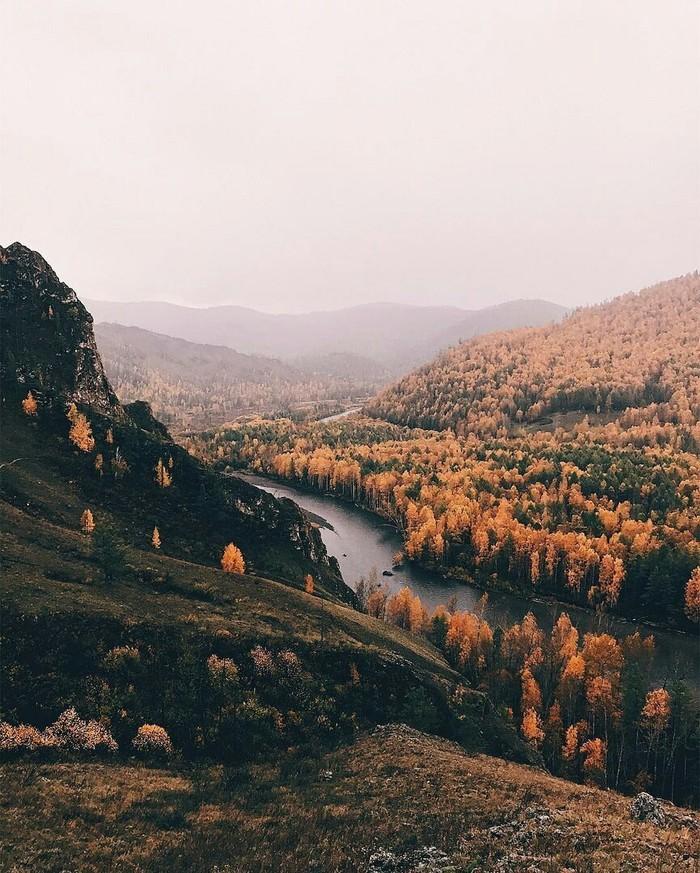 Осень в Хакасии. Сибирь, Хакасия, Фотография, Красота, Природа, Красота природы, Россия, Осень, Длиннопост