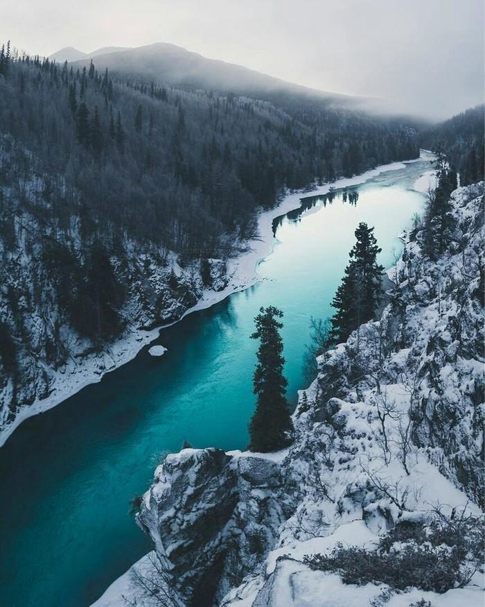 Река Кенай, Аляска