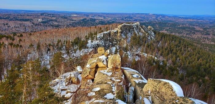 Аракуль зимой Аракуль, Аракульский шихан, Челябинская область
