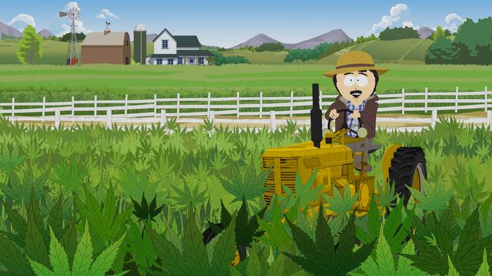 Четвертый эпизод 22-го сезона Южного Парка не показали в России South Park, Марихуана, Сериалы, Цензура