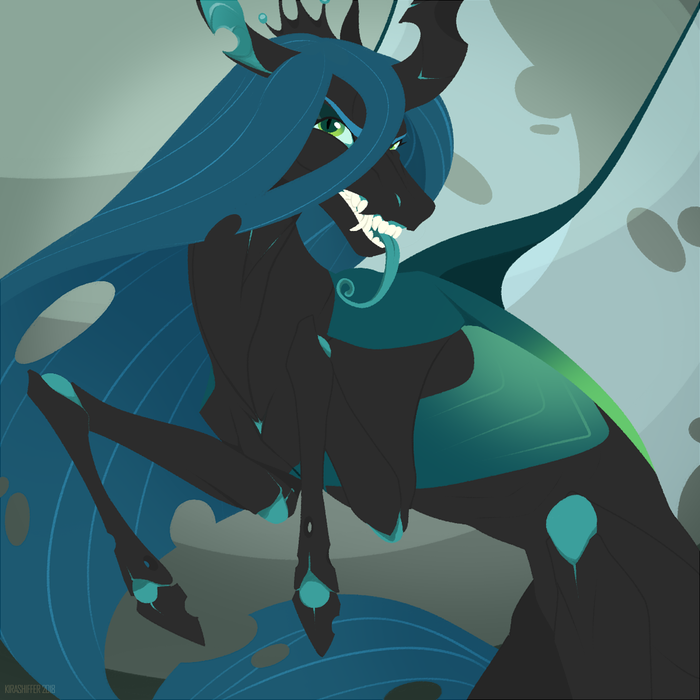 Дырявая лашатка My Little Pony, Queen Chrysalis