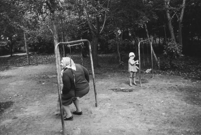 Качели Фотография, Качели, Бабка, СССР, Из сети