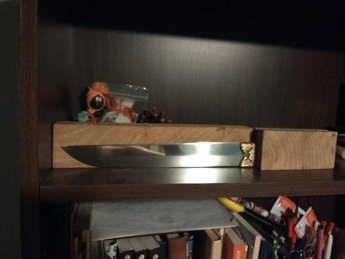 Перерождение ножа #2 Своими руками, Нож, Переделка, Не опускать руки, Длиннопост