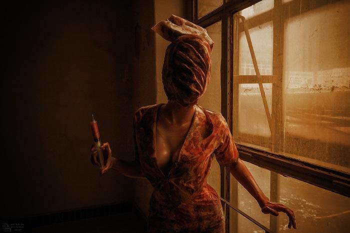 Silent Hill by Meiko Inoe Косплей, Silent hill, Хоррор, Ужас, Медсестры, Длиннопост