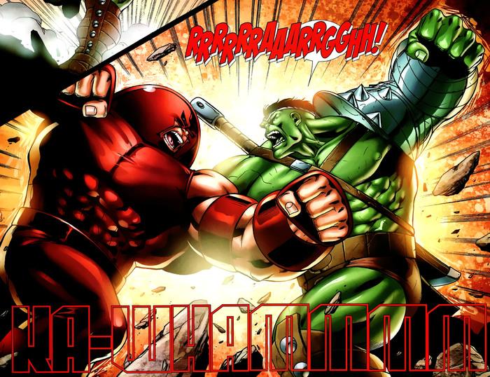 Суперзлодейские способности: Джаггернаут Супергерои, Суперзлодеи, Marvel, Джаггернаут, Комиксы-Канон, Длиннопост, Комиксы