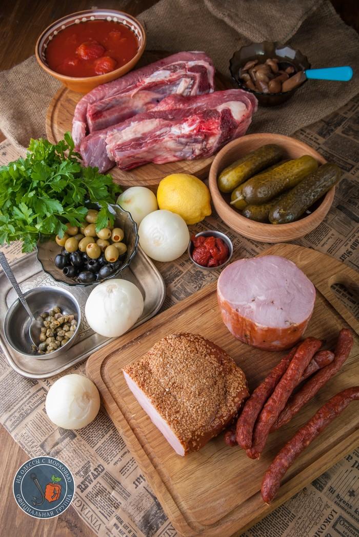 Солянка сборная мясная от Бра Из Одессы с морковью, Солянка, Еда, Рецепт, Кулинария, Фотография, Длиннопост