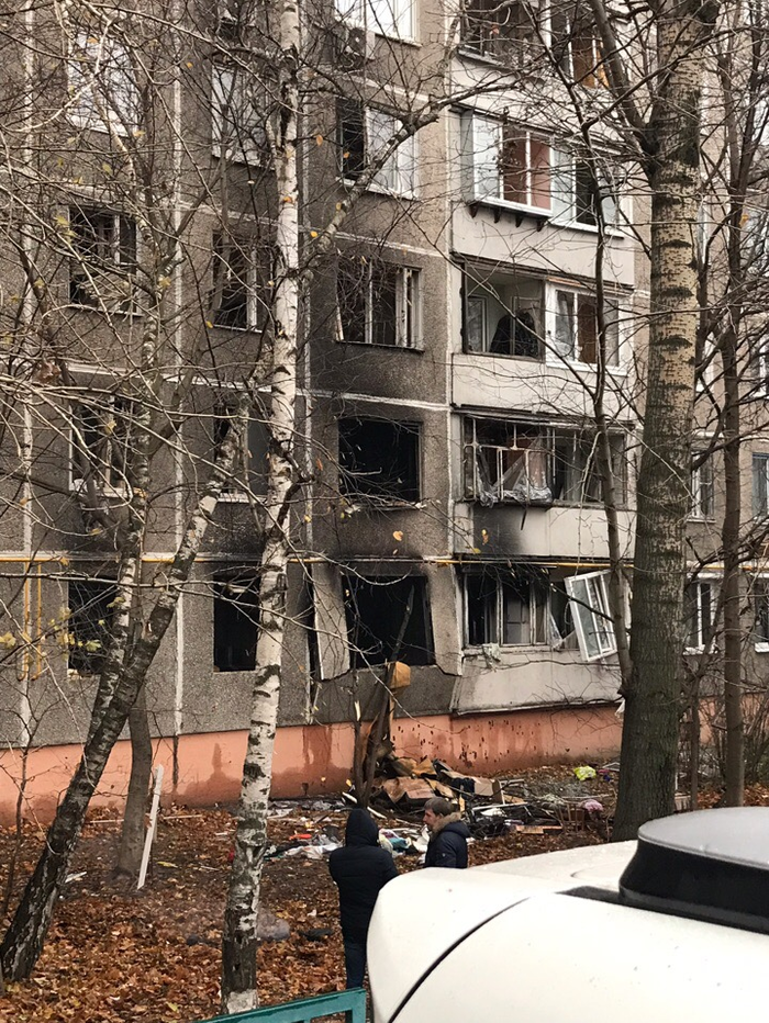 Взрыв в Коньково Происшествие, Взрыв, Москва, Длиннопост