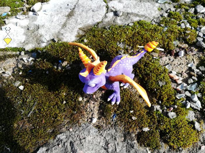 Spyro фигурка ручной работы Spyro, Спайро, Ручная работа, Фигурка, Spyro the Dragon, Ps4 игры, Длиннопост