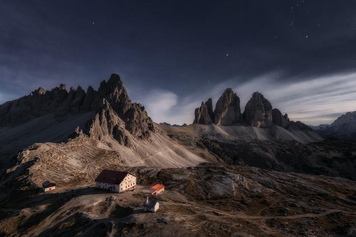 Я бы посетил... Пейзаж, Вид, Природа, Горы, Красота, Фотография, Доломитовые альпы, Италия