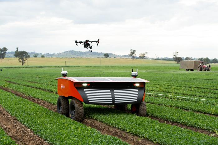 Колхоз роботов Экология, Робот, Сельское хозяйство, Экосфера, Технологии, Австралия, Инновации, Длиннопост, Видео