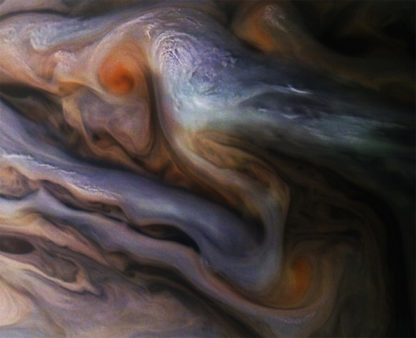 Зонд NASA заснял красивые облака на Юпитере (ФОТО) Юпитер, Юнона, NASA, Juno, Длиннопост