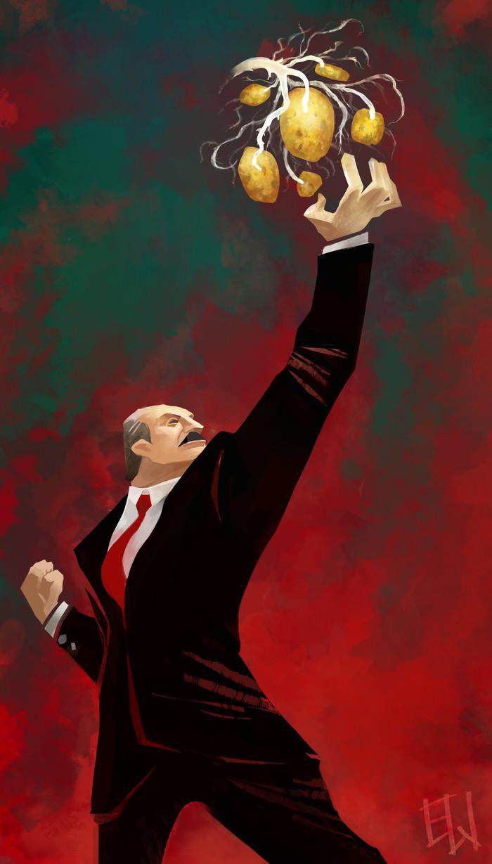 Potatoes Dictator Лукашенко, Диктатор, Картофель