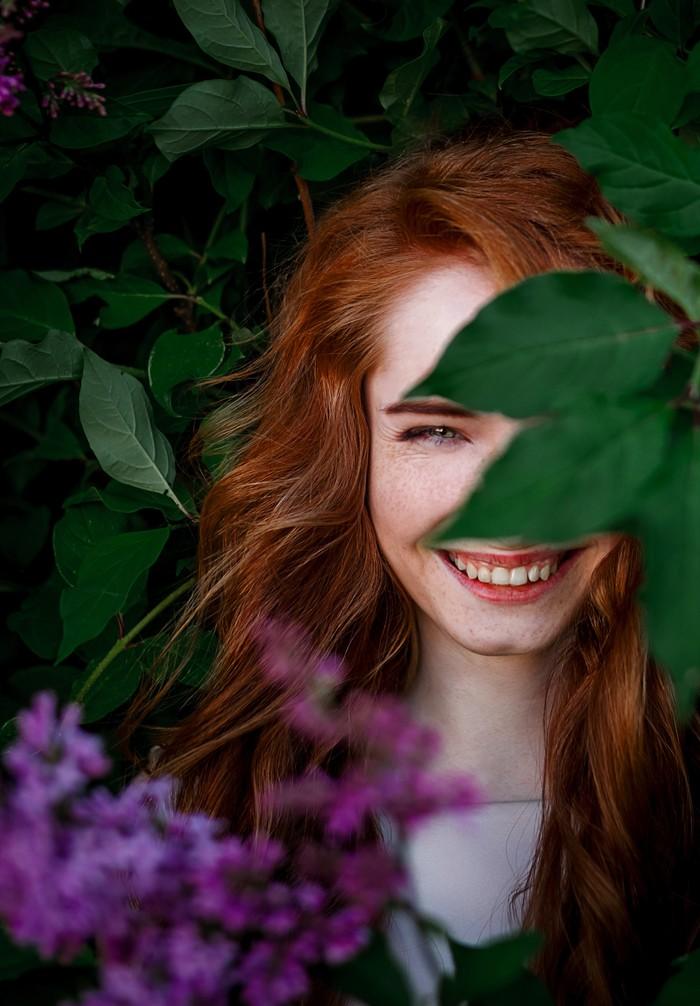 Улыбка Девушки, Улыбка, Радость, Эмоции, Фотография, Рыжие, Красивая девушка, Портрет