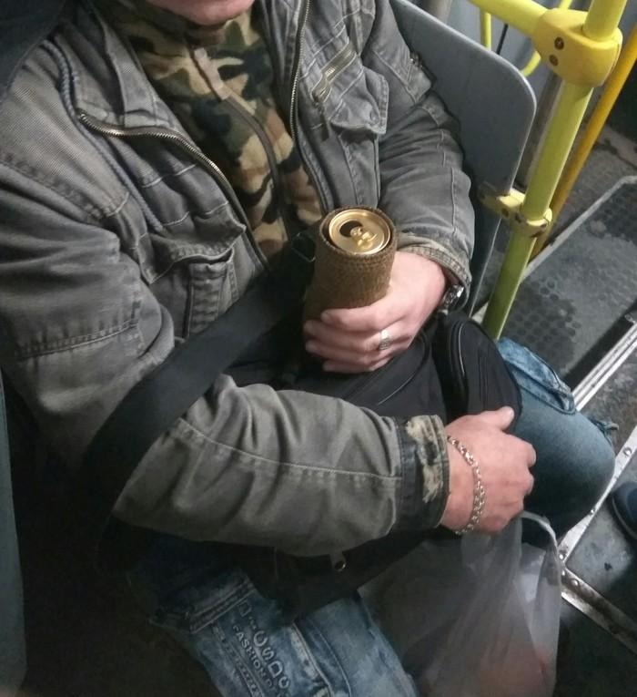 Жена связала Пиво, Банка, Общественный транспорт