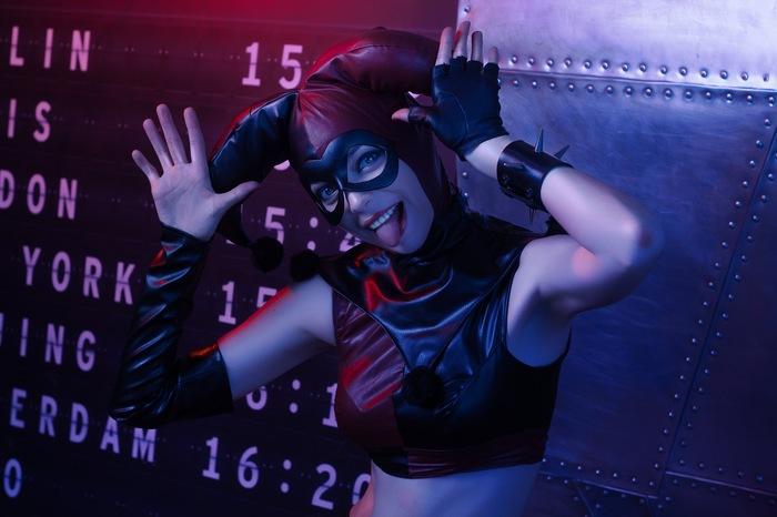 Harley Quinn by Lizhen Косплей, DC Comics, Batman, Харли Квинн, Длиннопост