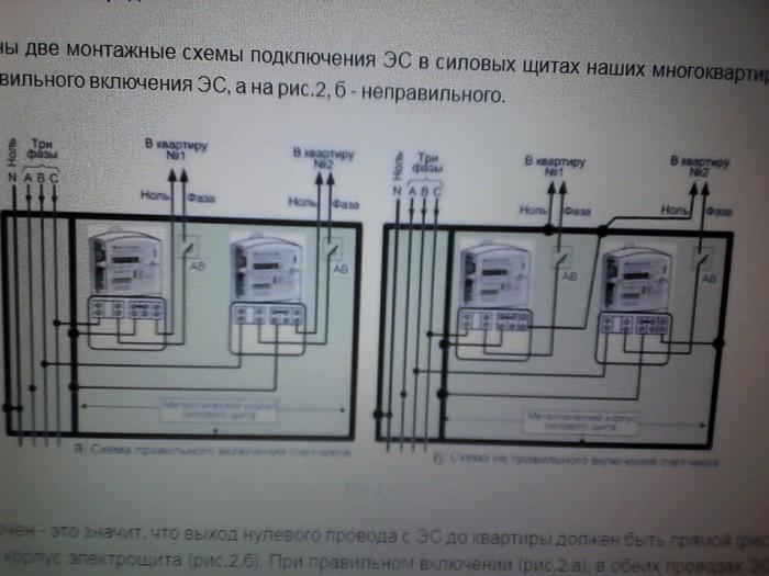 Вопрос специалистам Электричество, Вопрос