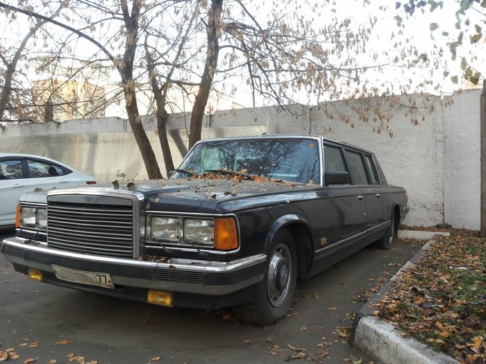 ЗИЛ-41047 Авто, СССР, Зил-41047, Лимузин, Длиннопост