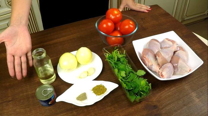 ЧАХОХБИЛИ | Вкуснейшее рагу из курицы Чахохбили, Еда, Кулинария, Курица, Сдедомзаобедом, Вкусно, Рецепт, Видео, Длиннопост