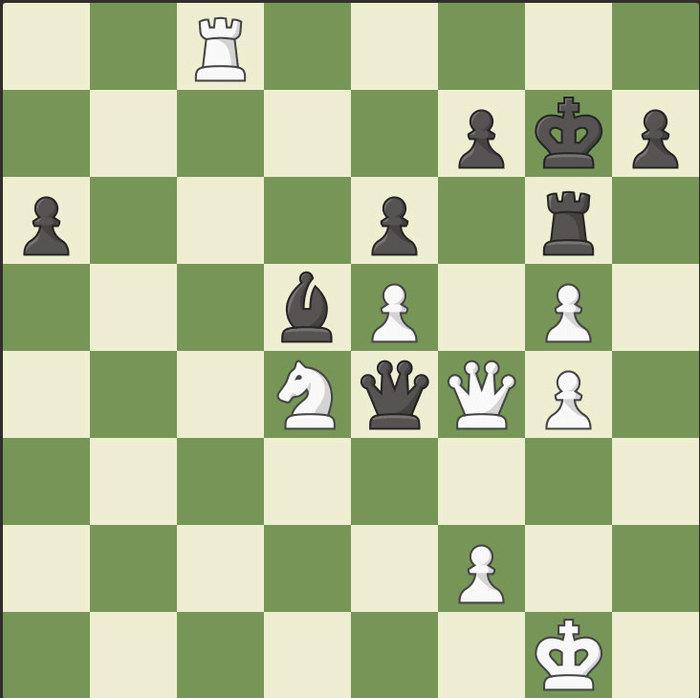 Трехходовки. Часть четвертая Шахматы, Мат, Трехходовка, Длиннопост, Комбинация
