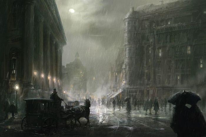 Закрой глаза и думай о магии. Введение в вампирологию Рассказ, Фэнтези, Англия, Лондон, Магия, Волшебник, Длиннопост