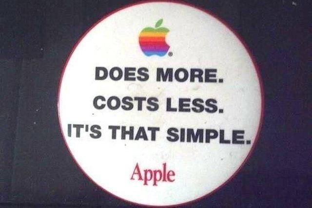 А начинали-то за здравие Apple, Бренды, Из сети, Слоган