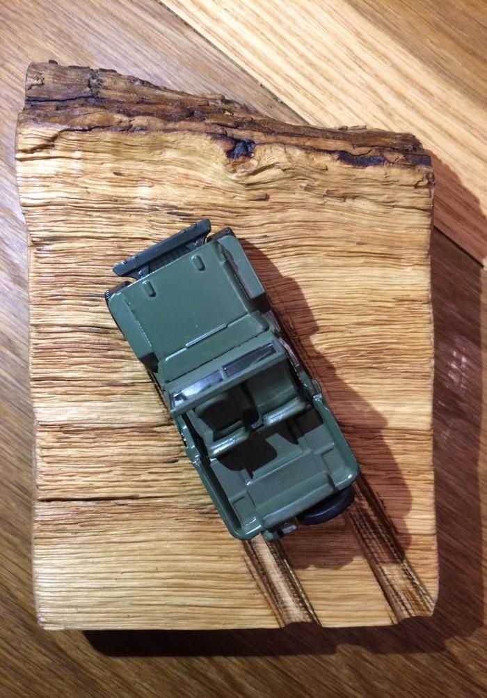 Jeep. Небольшая диарама Модель, Игрушечная машинка, Длиннопост, Масштабная модель