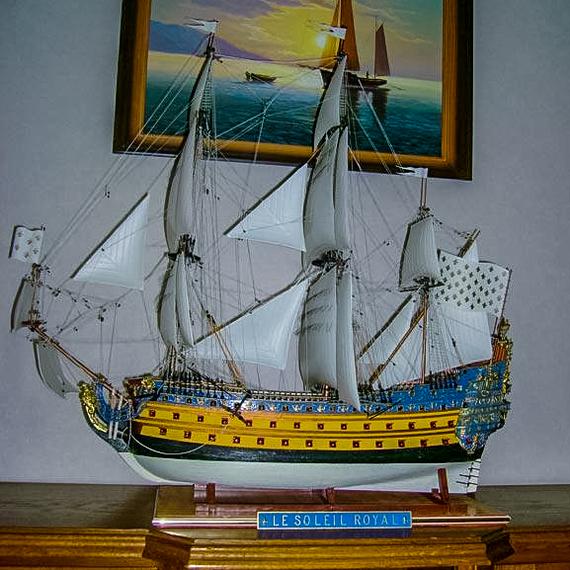 Le soleil royal 1/100 от HELLER Сборная модель, Масштаб 100, Длиннопост, Постройка корабля, Le Soleil Royal