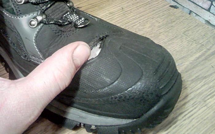Латки на горных ботинках. Ремонт обуви, Ботинки, Латки, Моя интересная работа, Фотография, Длиннопост