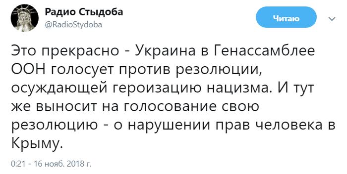 Характер такий Политика, ООН, Украина, Нацизм, Крым, Права человека, Двойные стандарты, Фашизм