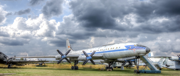 Таких больше не делают. Лайнер Ту-114 в Монино Монино, Музей, Самолет, Ту-114, Хрущев, Видео, Длиннопост