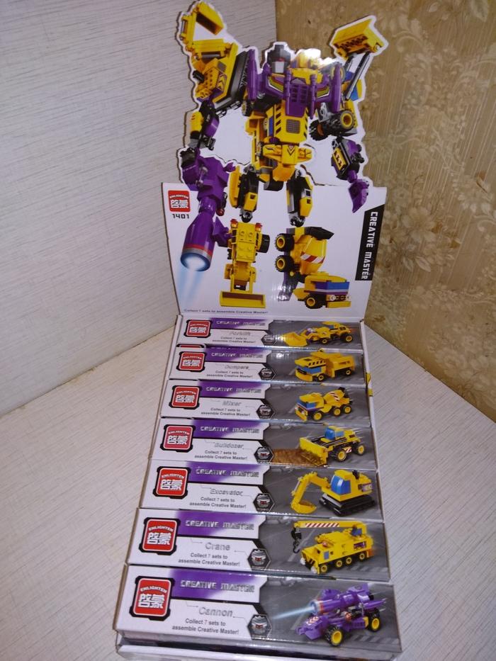 Робот-Трансформер Бог войны Аналог, LEGO, Конструктор, Трансформеры, Длиннопост