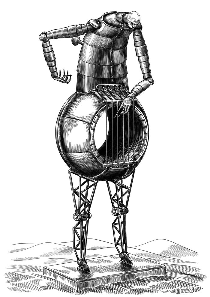Статуя Алых песков Балларда
