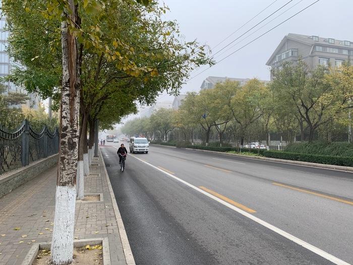 Пекинский смог Китай, Пекин, Воздух, Длиннопост