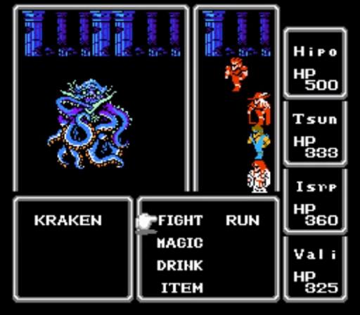 Final Fantasy. Часть 4. 1987, Прохождение, Final Fantasy, Famicom, Nes, JRPG, Длиннопост