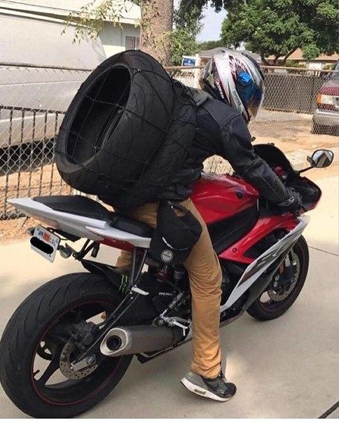 Мотоцикл я люблю, запаски с собой вожу