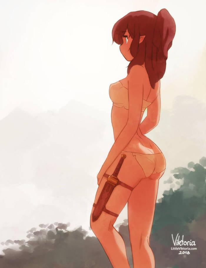 Warrior DeviantArt, Арт, Рисунок, Фэнтези, Anime Art