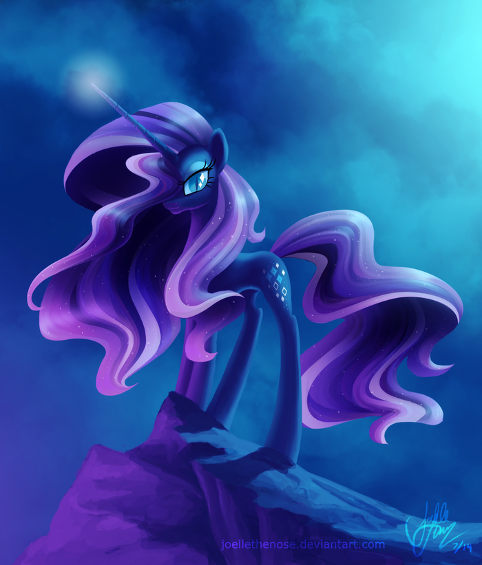 The Fabulousness Will Last Forever! My Little Pony, Nightmare Rarity, JoelletheNose