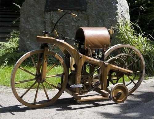 10 самых первых мотоциклов История, Мотоциклы, Мото, Длиннопост
