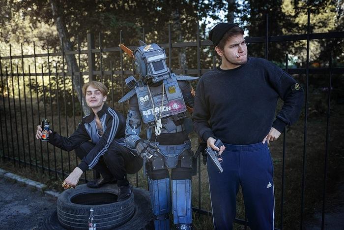 Робот по имени Чаппи в России Косплей, Робот по имени Чаппи, Юмор, Длиннопост