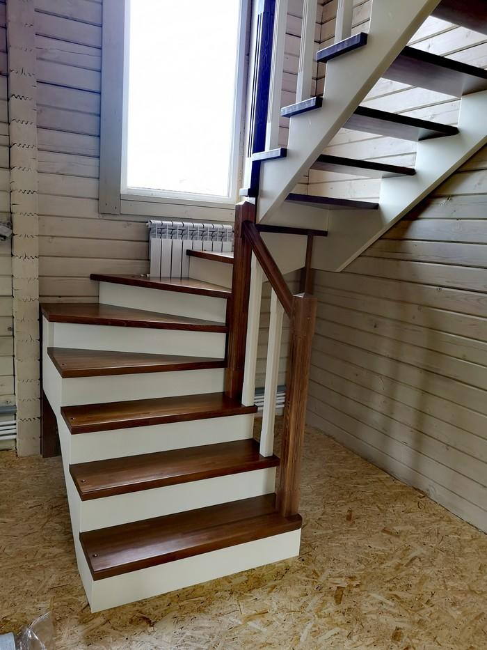Лестница на даче Лестница, Дом из бруса, Дизайн, Длиннопост