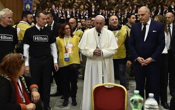 Папа Римский поздравил бедняков с их днем - Всемирным днём бедных Папа Римский, Ватикан, Рим, Религия, Бедность