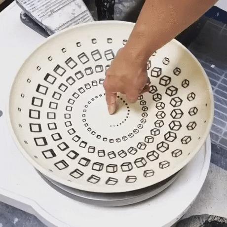 Оптическая тарелка