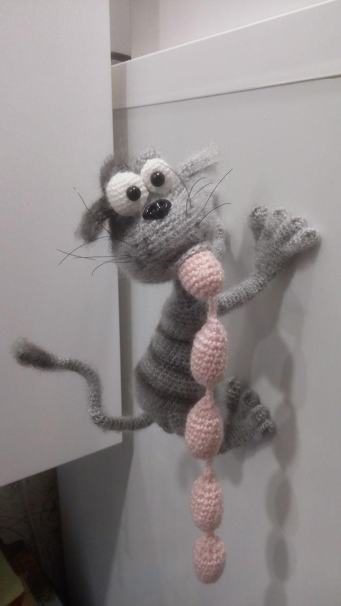 Кот- воришка. Вязание, Котомафия, Рукоделие