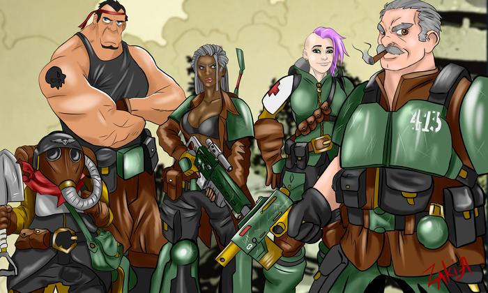Нам нужен новый отряд героев Империума