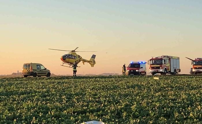 В немецком городе Кюкховен столкнулись два ультралегких самолета Самолет, Катастрофа, Новости, Длиннопост