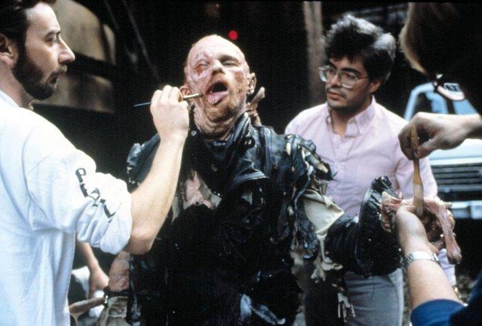 Фотографии со съемок фильмаРобокоп 1987 год Фотография, Фильмы, Робокоп, Пол Верховен, Питер Уэллер, Интересное, Длиннопост, VHS