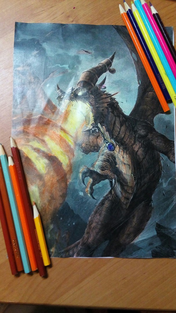 Арты из карт Hearthstoneна бумаге цветными карандашами Hearthstone, World of Warcraft, Рисунок, Рисунок карандашом, ИмбаБум, Игры, Длиннопост, Game Art