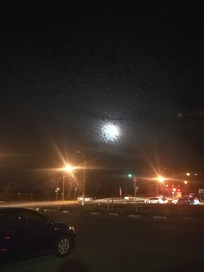 Луна сейчас